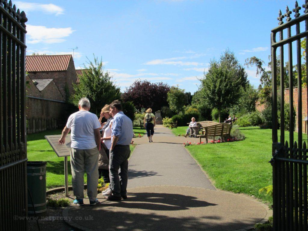 Beverley Coronation Sensory Garden is well used in the Summer