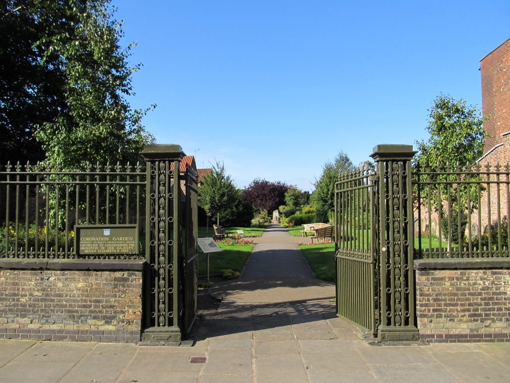 Entrance to Sensory Garden, Beverley, East Yorkshire